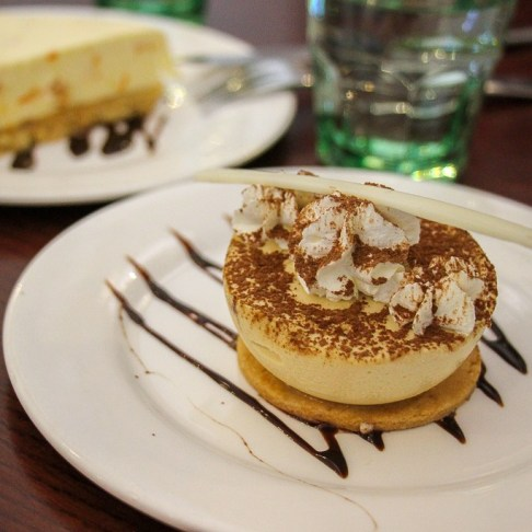 Tiramisu cake at S'Patisserie in Hanoi, Vietnam