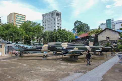 US Airplanes, War Remnants Museum, Saigon, HCMC, Vietnam