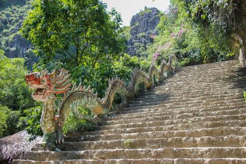 Hang Mua Stairs, Ninh Binh Province, Vietnam