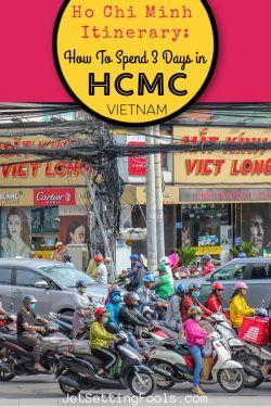 Ho Chi Minh Itinerary by JetSettingFools.com