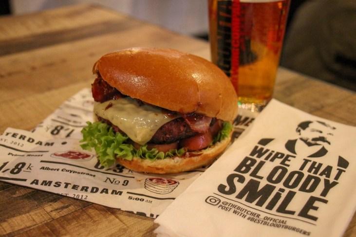 THE BUTCHER, Amazing Burger, Foodhallen, Amsterdam