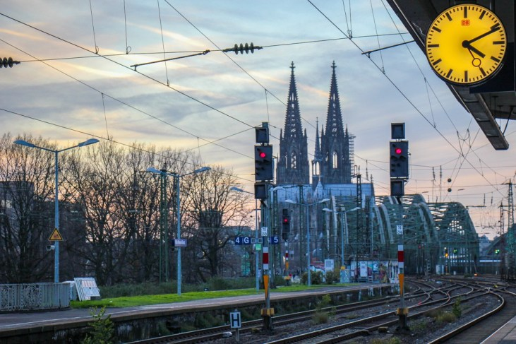 Cologne Skyline and Cathedral, Germany