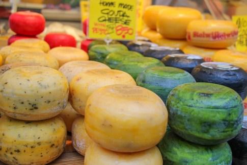 Must eat cheese, Albert Cuypmarkt, Amsterdam, Netherlands