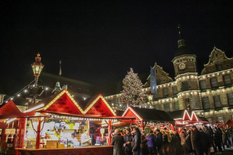 Altmarkt Christmas, Dusseldorf, Germany
