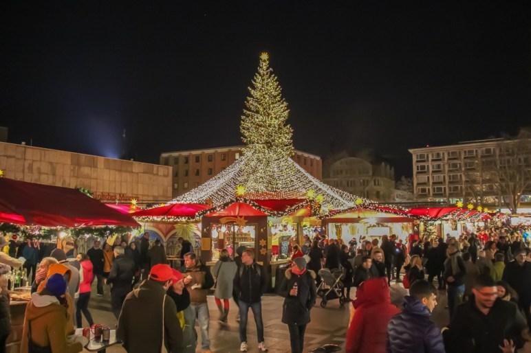 Big Christmas Tree, Cologne, Germany