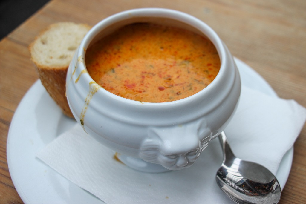 Best Fish Soup, Dusseldorf, Germany
