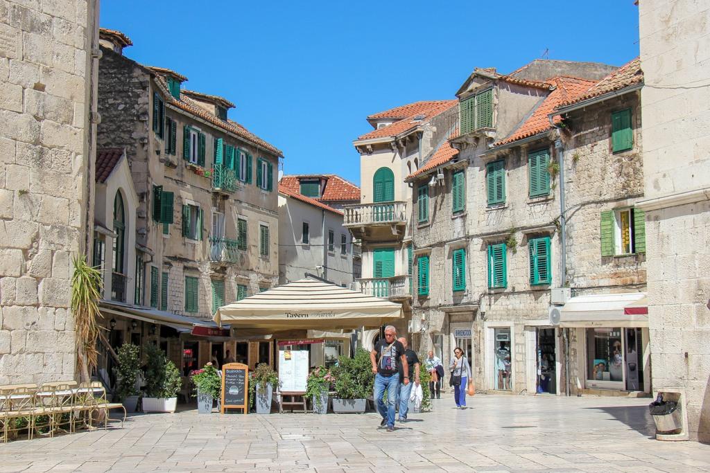 Fruit Square Buildings, Split, Croatia