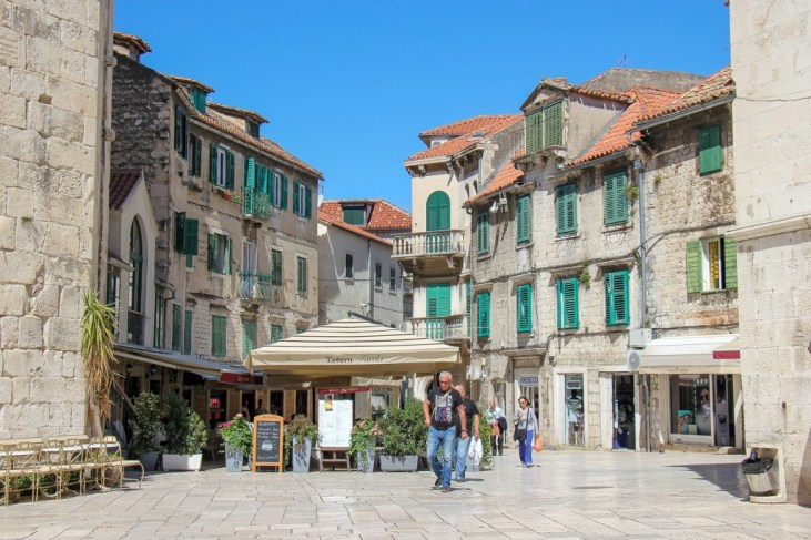 Fruit Square Buildings, Split, Croatia