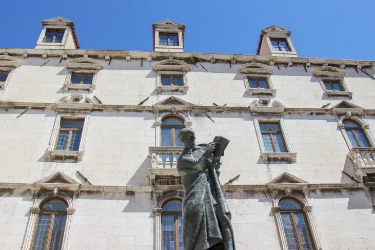 Marko Marulic Statue, Split, Croatia