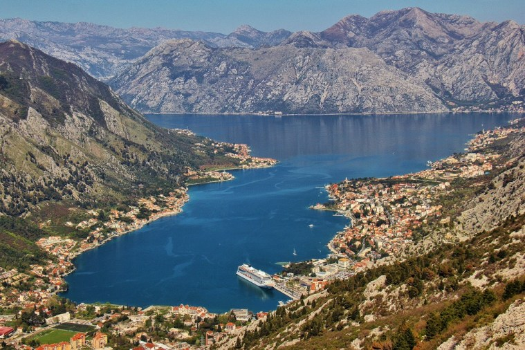Best View of Bay of Kotor, Montenegro
