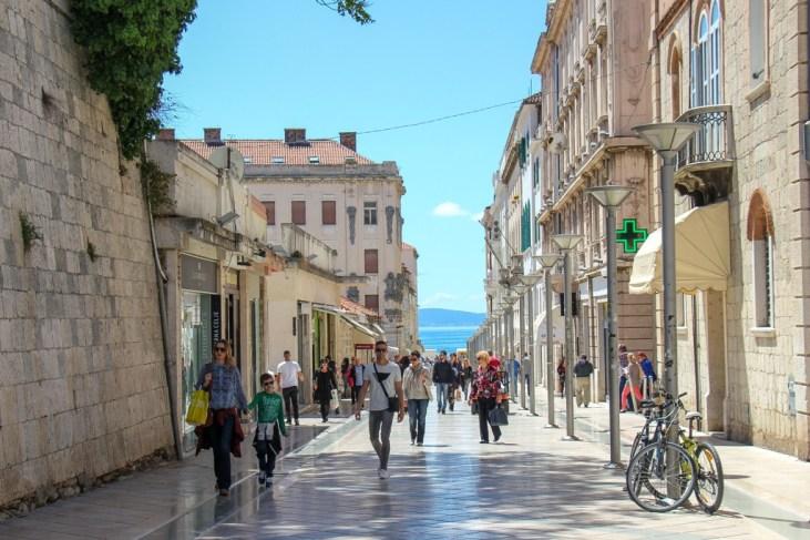 Marmontova Street, Split, Croatia