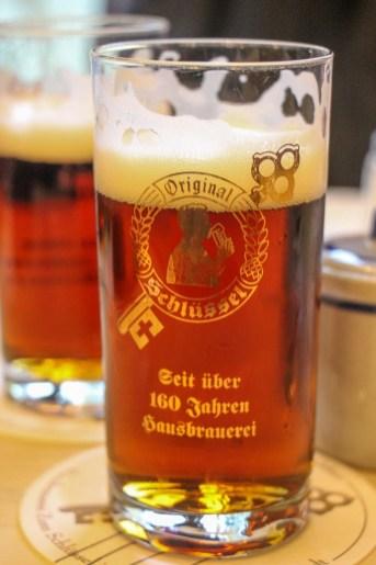 Alt beer, must drink, Dusseldorf, Germany