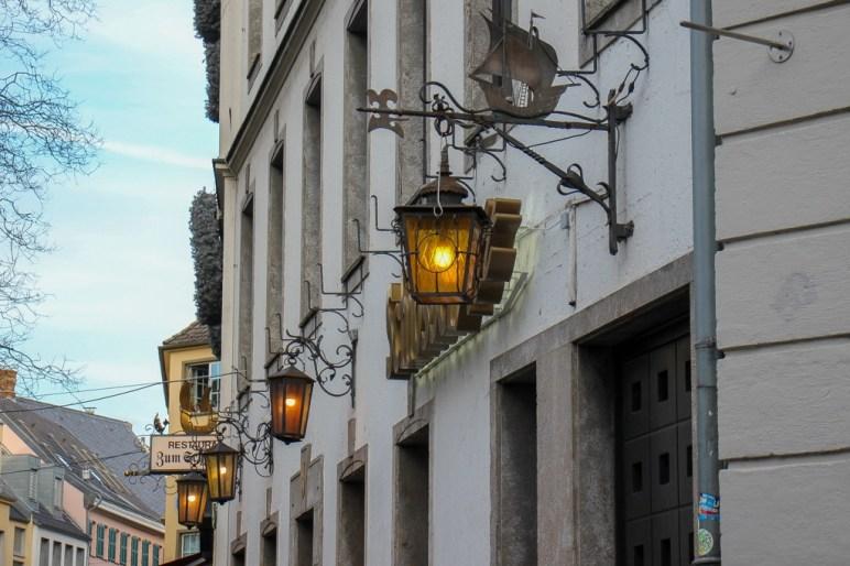 Street Lanterns in Dusseldorf, Germany