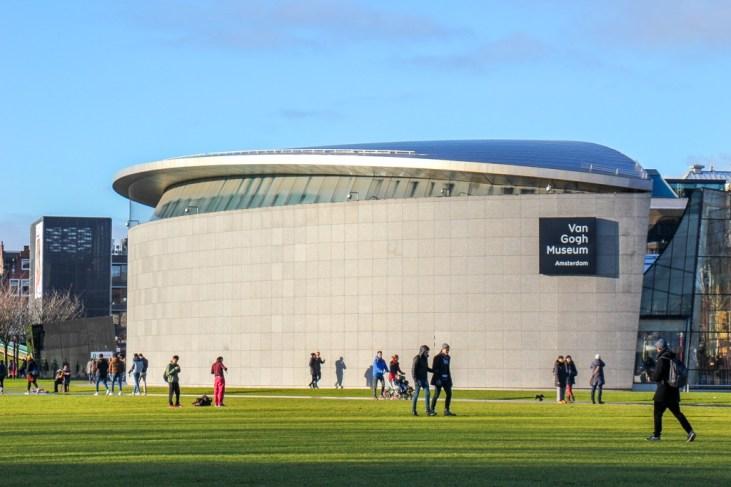 Modern Van Gogh Museum, Amsterdam, Netherlands