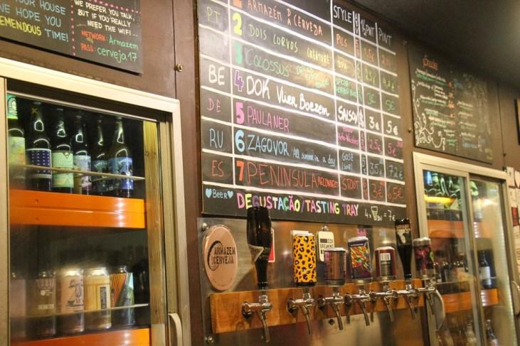 Craft Beer Bar, Armazem da Cerveja Brewpub Porto