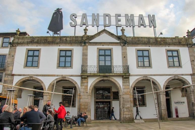 Sandeman Wine, Vila Nova de Gaia, Porto, Portugal