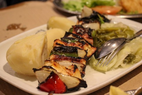 Octopus Skewer, What To Eat In Porto, Portugal