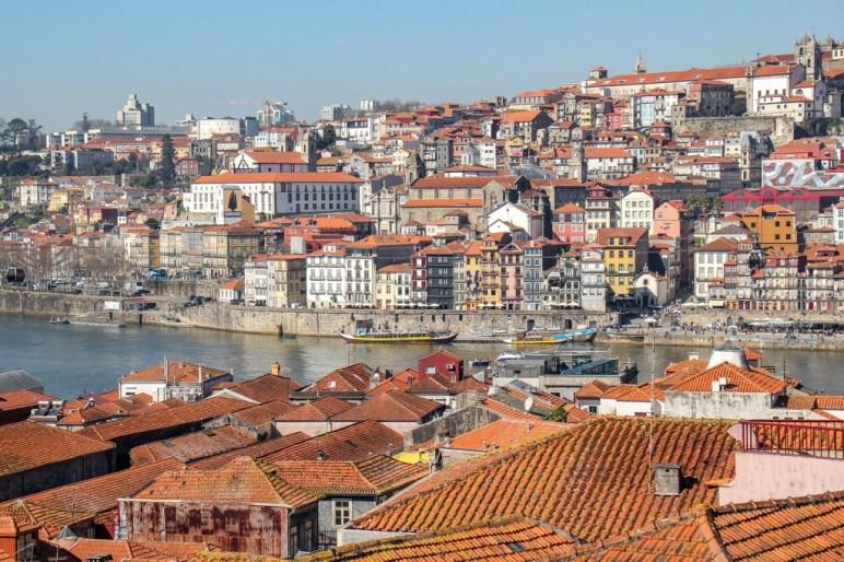 View from Vila Nova de Gaia, Porto, Portugal