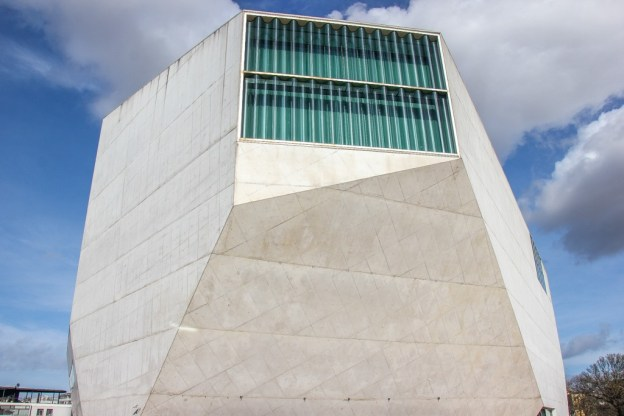 modern Casa da Musica concert hall, Porto, Portugal