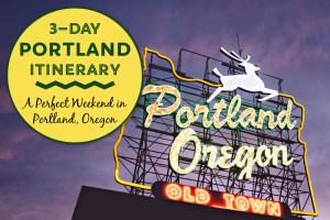 Portland Itinerary A Perfect Weekend in Portland, Oregon by JetSettingFools.com