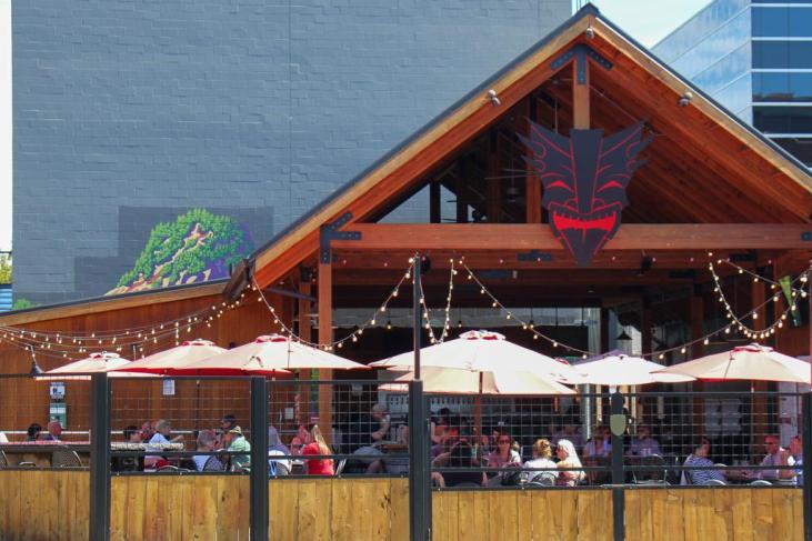 Large Patio, Heathen Brewing Feral Public House, Vancouver, WA