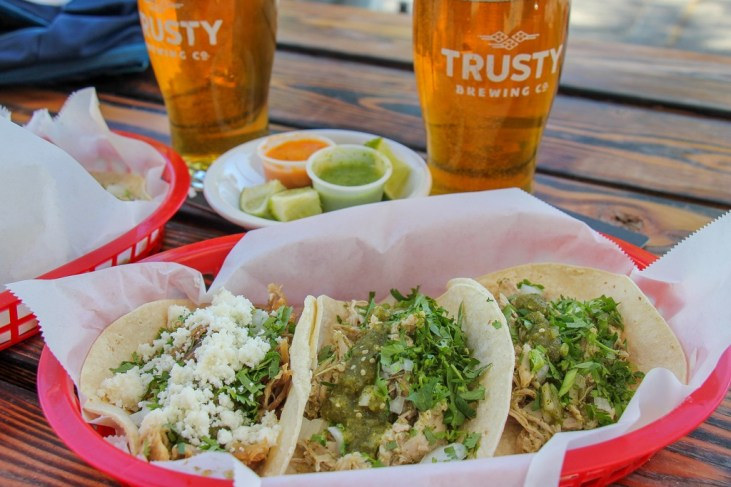 Best Tacos In Vancouver, Taco Tuesday, Trusty Brewing, Vancouver, WA
