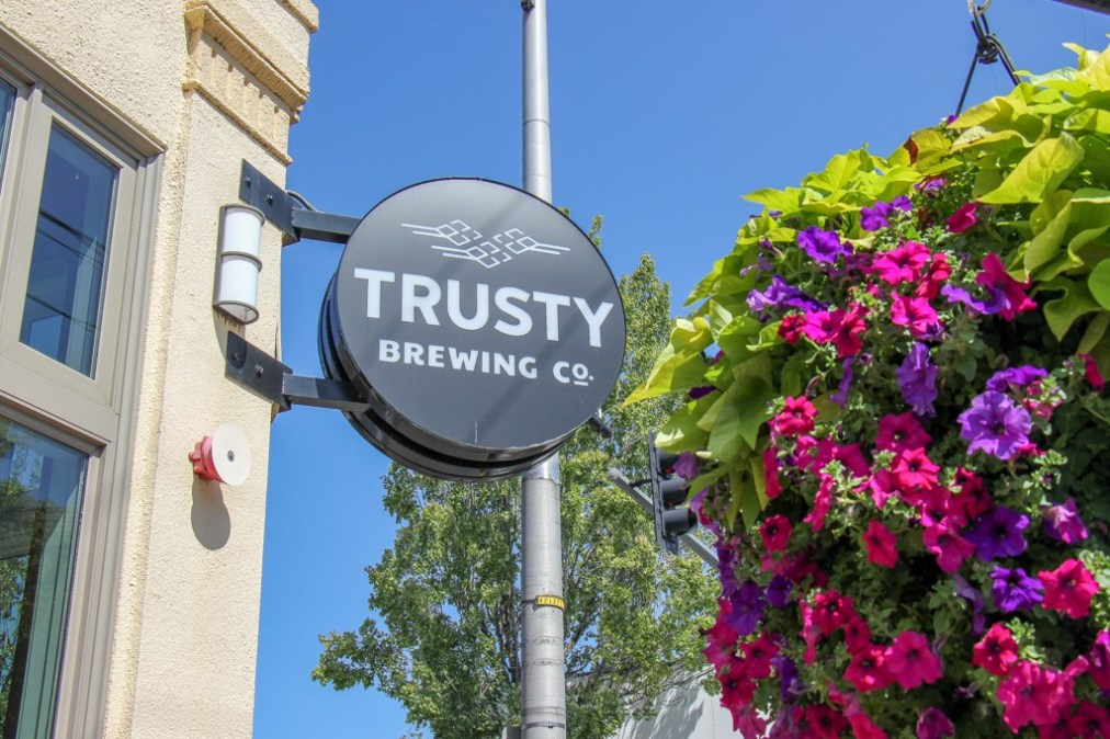 Can't go wrong at Trusty Brewing, Vancouver, WA