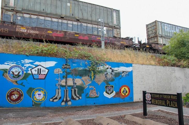 Street Art at Veterans Plaza, Vancouver, WA