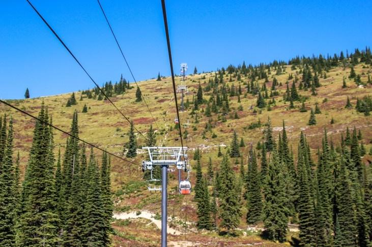 Ski life to the top of Big Mountain, Whitefish, Montana