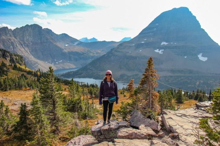 Sarah at Hidden Lake, Glacier National Park, Montana