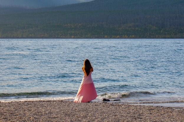 Doing it for Instagram Photo, Glacier National Park, Montana Road Trip