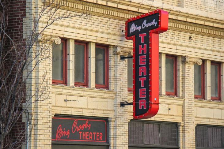 Bing Crosby Theater Marquee, Spokane, WA