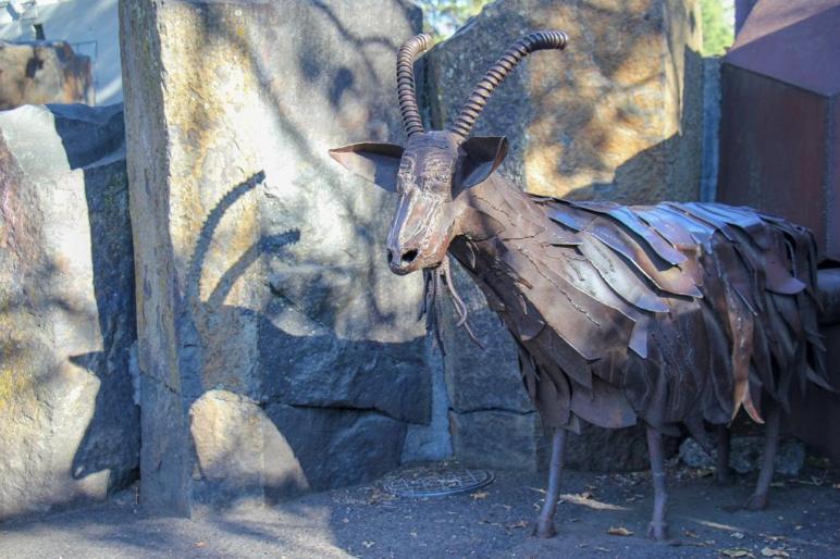 Feed the Garbage Goat, Spokane WA