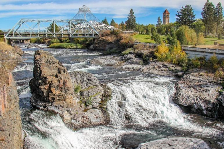 The Best Spokane Falls Viewpoint, Spokane, WA