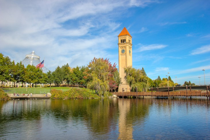Great Northen Clocktower, Spokane, Washington