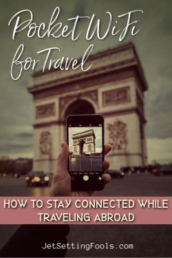 Pocket WiFi for Travel and How To Stay Connected Abroad by JetSettingFools.com