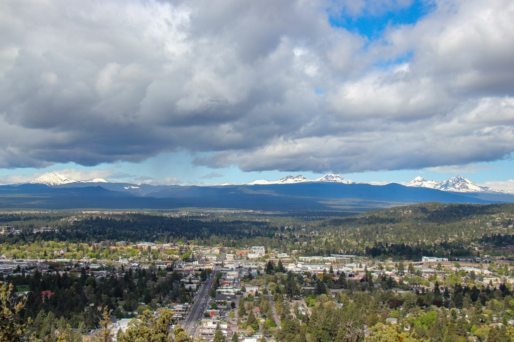 View from Pilot Butte, Bend, Oregon