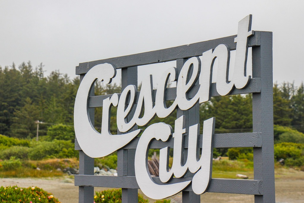 Welcome To Crescent City, California