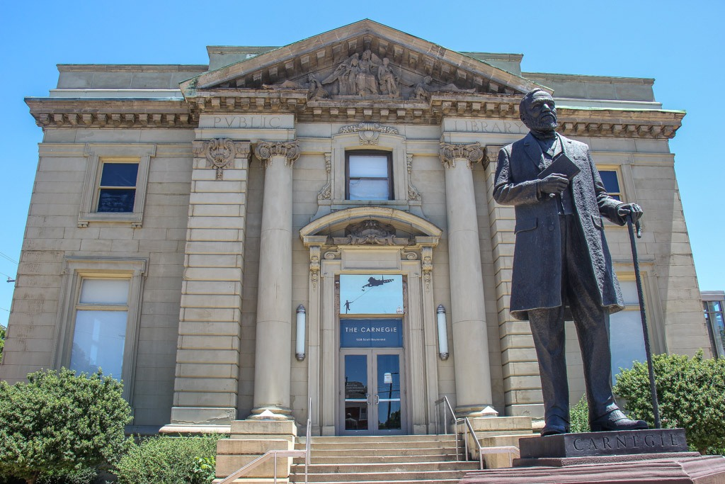 Visit the Carnegie Art Center, Covington Kentucky