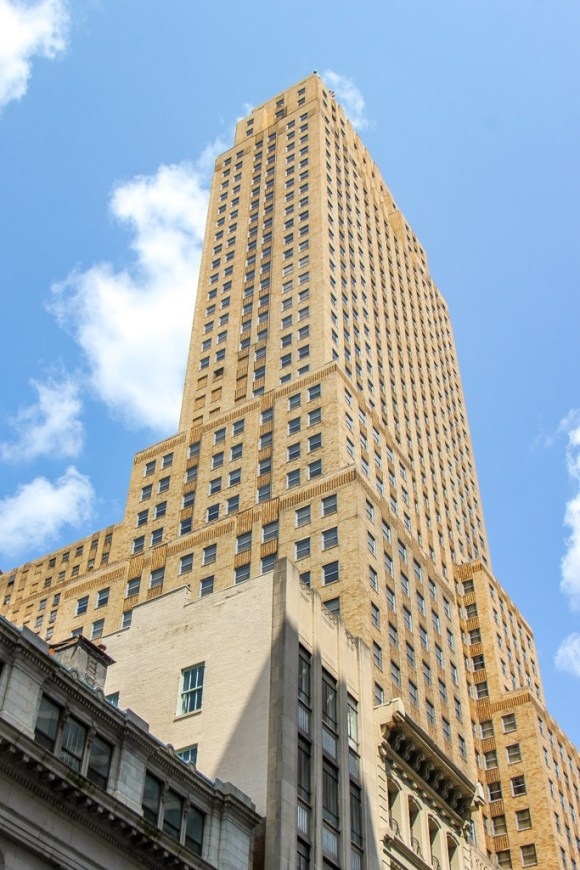 Look up at the Carew Tower, Cincinnati, Ohio