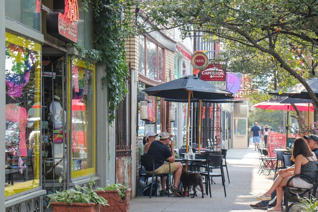 Street Scene in Nulu, Louisville, KY