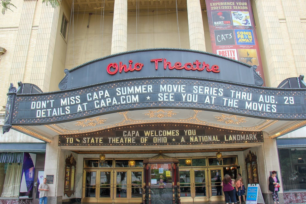 See a show at the Ohio Theater, Columbus