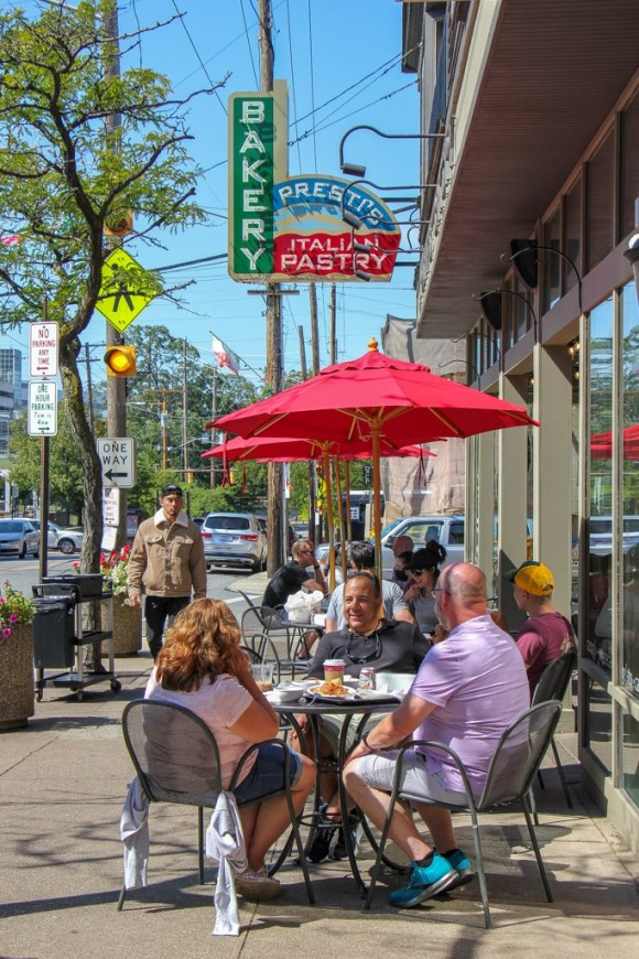 eat at Presti's Bakery, Little Italy, Cleveland, Ohio