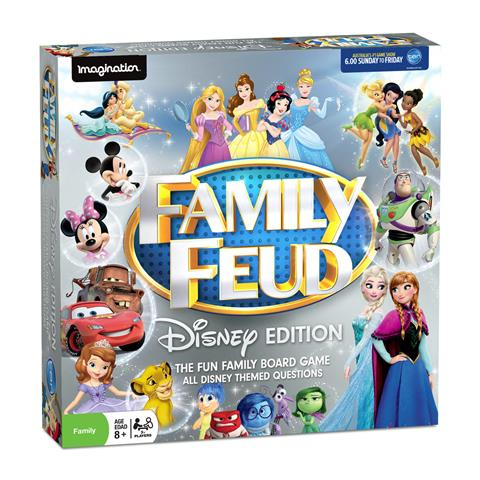 Survey Says   It's time to Play Disney Family Feud