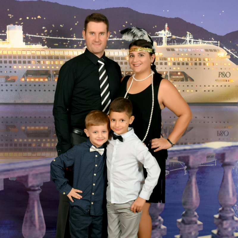 Pacific Dawn Theme Night Gatsby Party