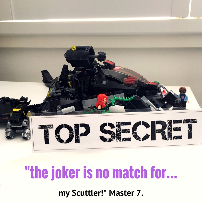 LEGO Batman Movie - Batman's The Scuttler