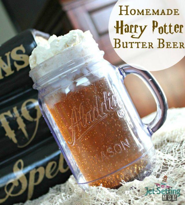 DIY Harry Potter Butter Beer recipe