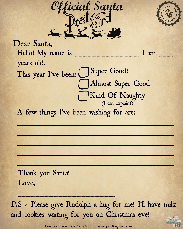 Write To Santa The Easy Way