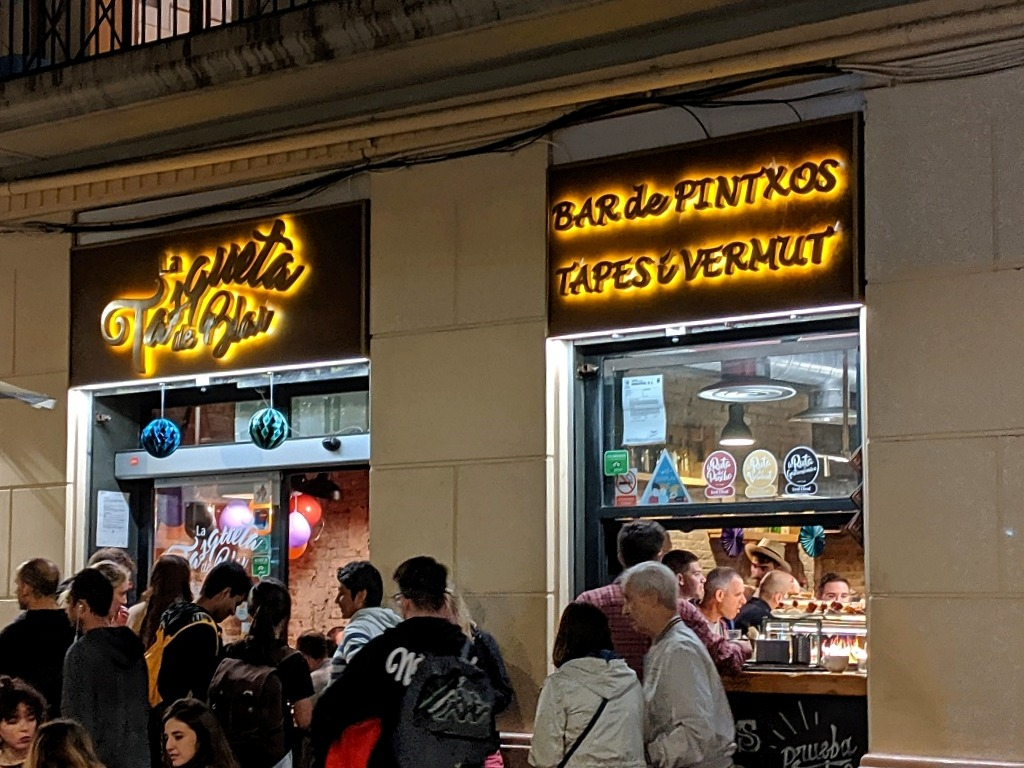 Las Tasqueta de Blai  pincho bar barcelona