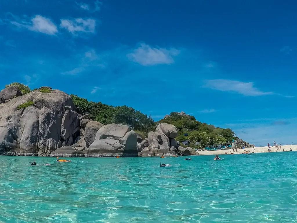 Trip To Nang Yuan Island from Koh Samui